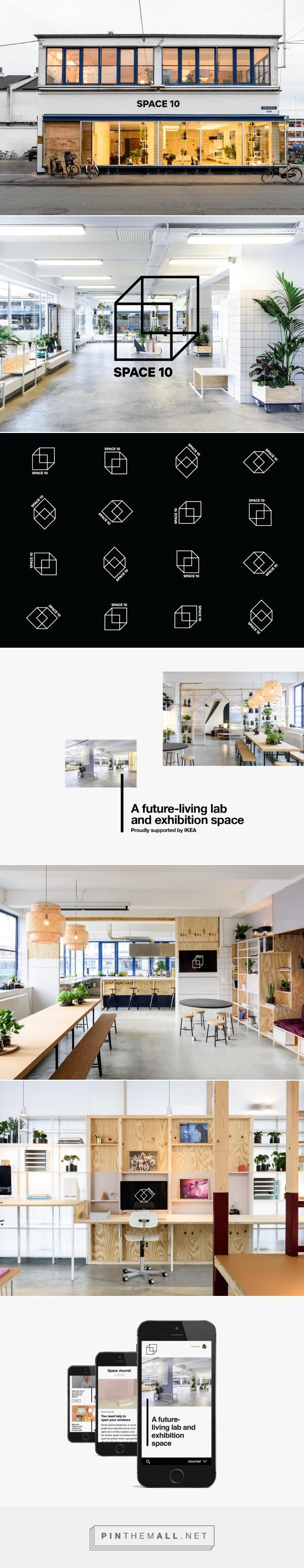 Visual & Brand Identity - Space10, Denmark on Behance