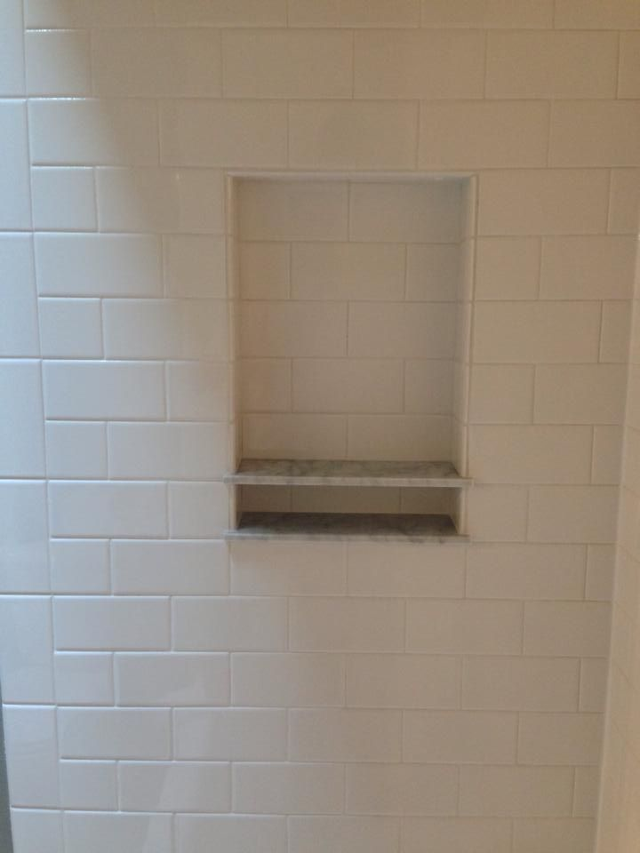 Soap Dish In Subway Tile Google Search With Images Shower