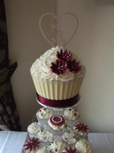to The New ProfileTree Wedding cupcakes, Cake