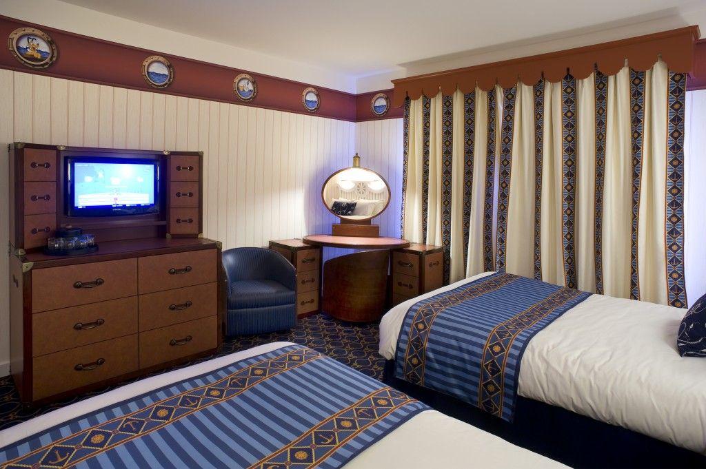 Les Nouvelles Chambres Du Newport Bay Club Disneyland Paris