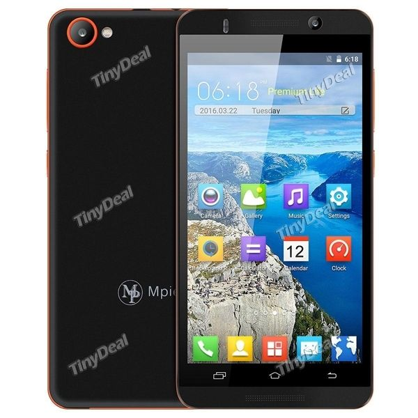 "MPIE X800 5.0\"" MTK6580 Quad-core Android 5.1 3G Phone 512MB RAM 4GB ROM 5MP CAM Smart Wake P080-MPX800"