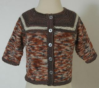 Baby Seamless Cardigan pattern by Elaine Phillips