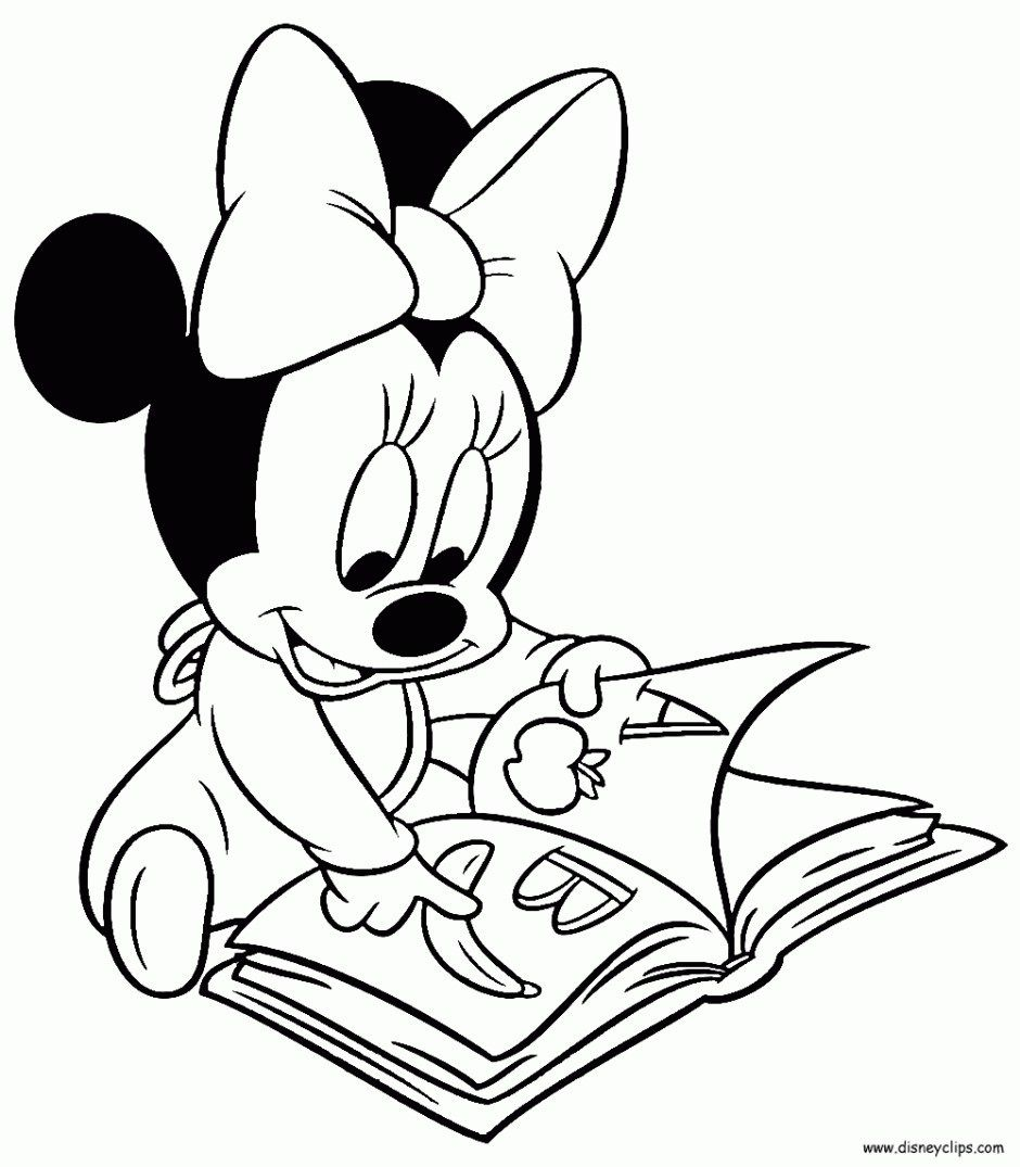 6+ Elegant Photo of Minnie Mouse Coloring Pages - entitlementtrap