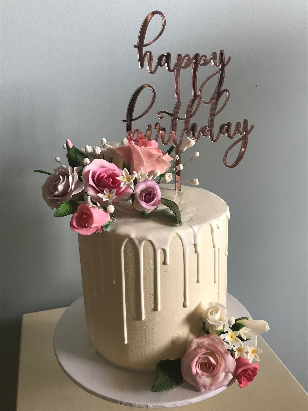 Pin By Iromi De Silva On Cards Birthday Cake With Flowers Best Friend Birthday Cake Happy Birthday Cake Images