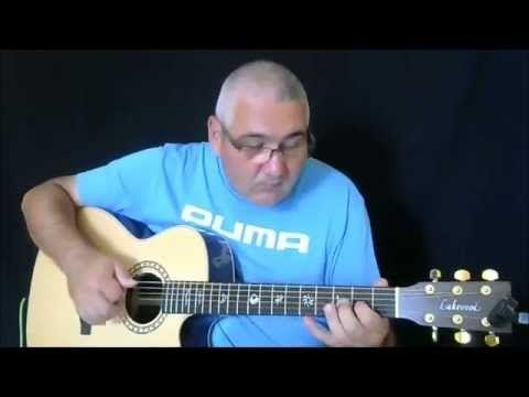 (6) Il pescatore - Fabrizio De Andre' & PFM - fingerstyle by Leonardo Crenna - YouTube