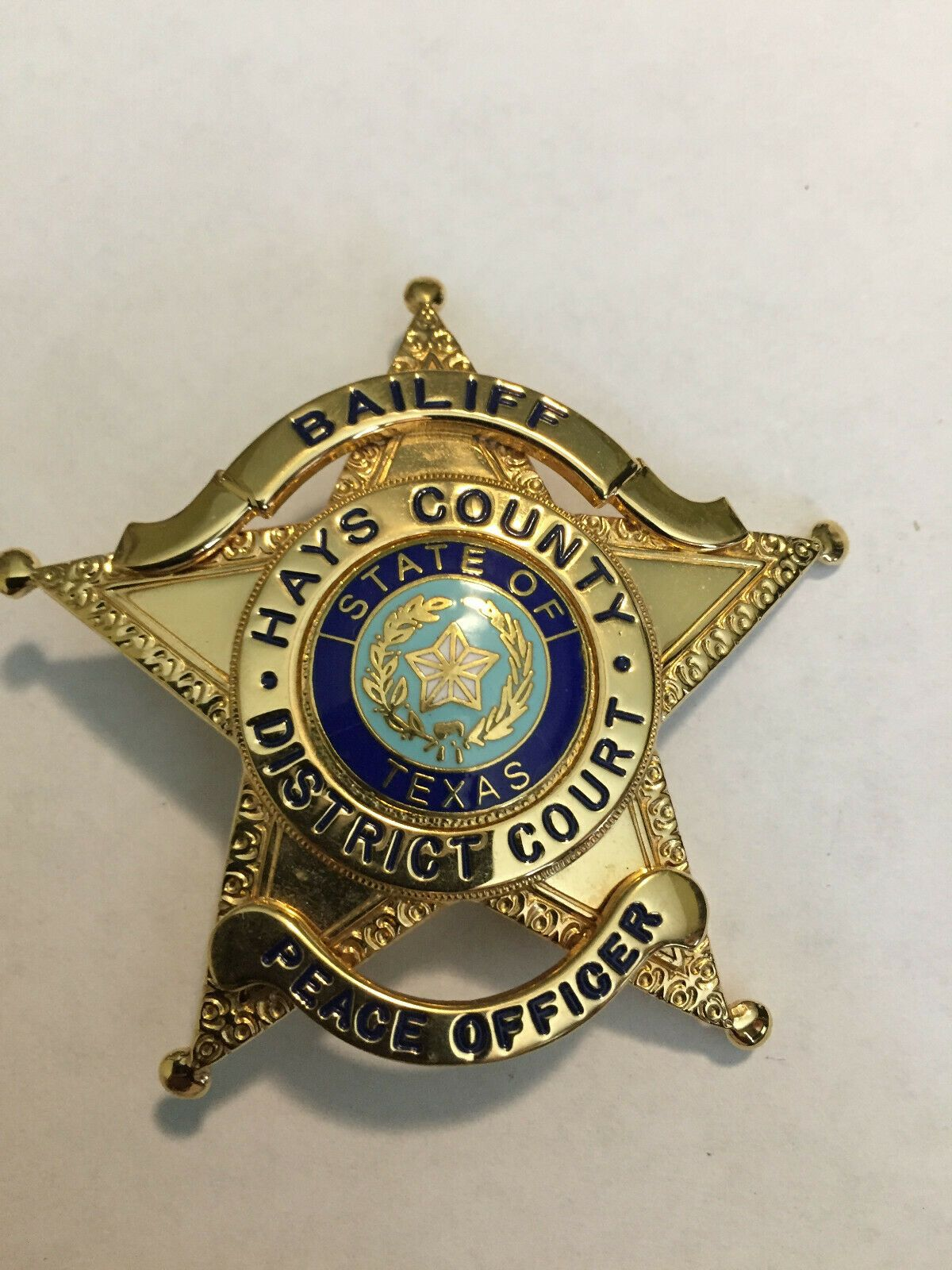 Bailiff, Hays County District Court, Texas   POLICE   Police