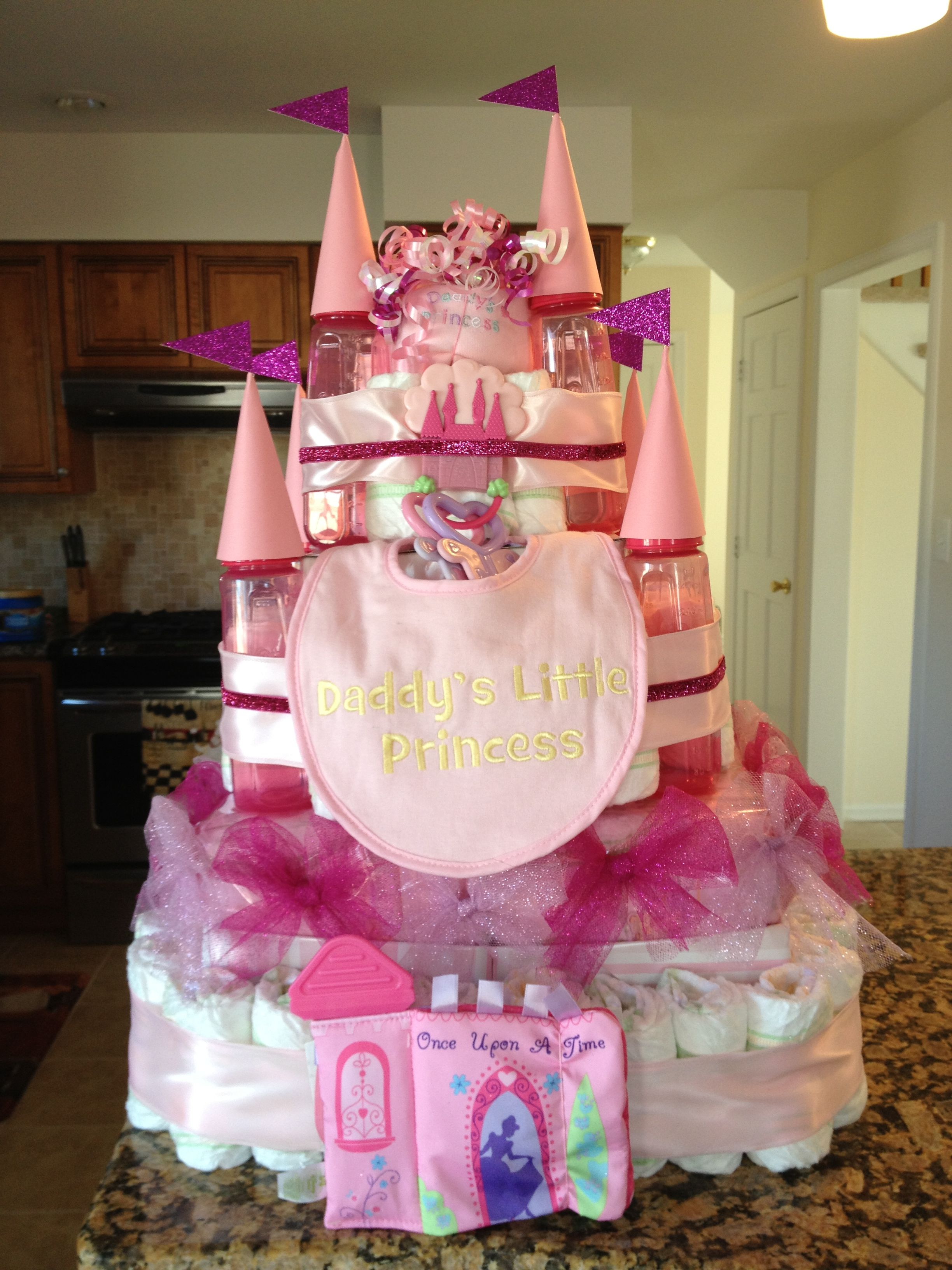 diaper castle | baby shower | pinterest | diaper castle