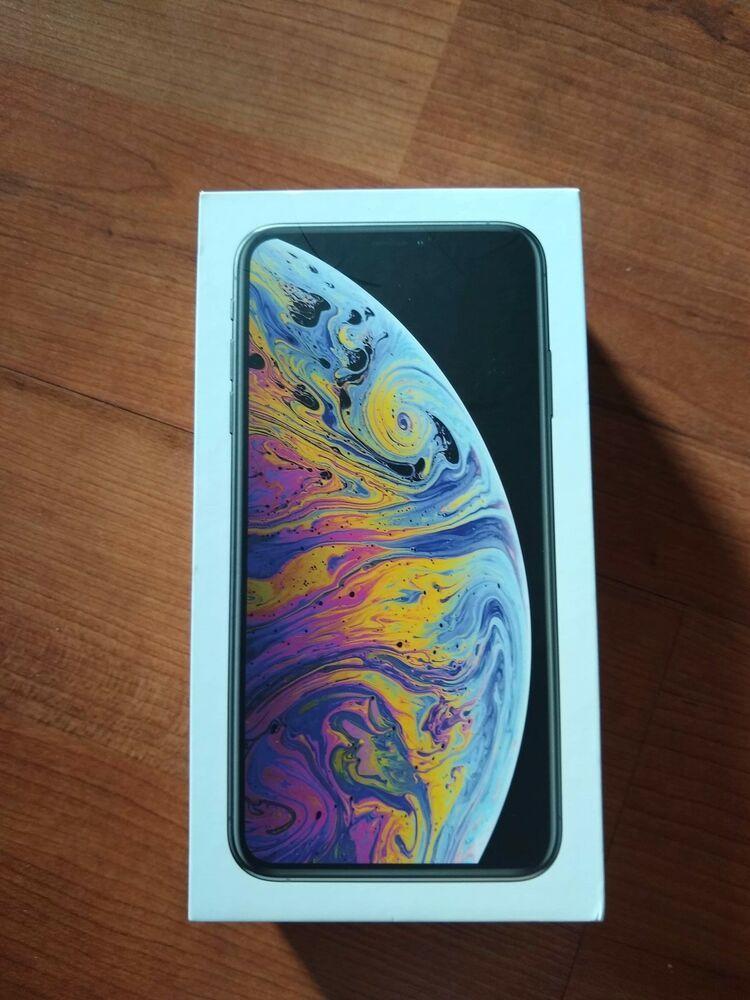 Apple iphone xs max 256gb silver unlocked a1921