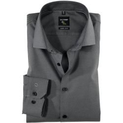 Photo of Olymp No. Six skjorte, superslank, Royal Kent, antracite, 42 Olymp