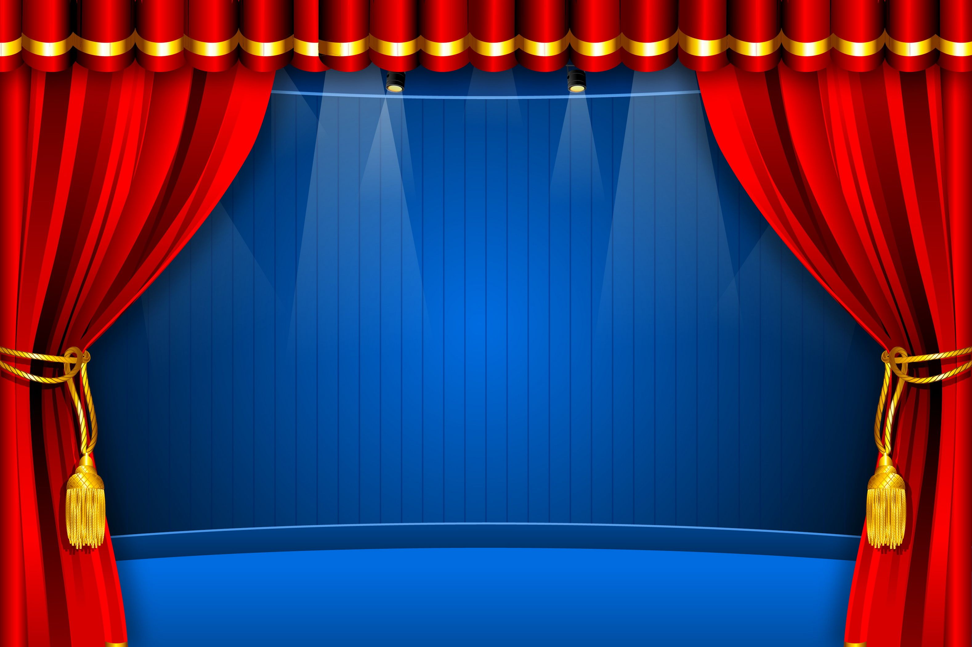 stage curtain stage curtains red