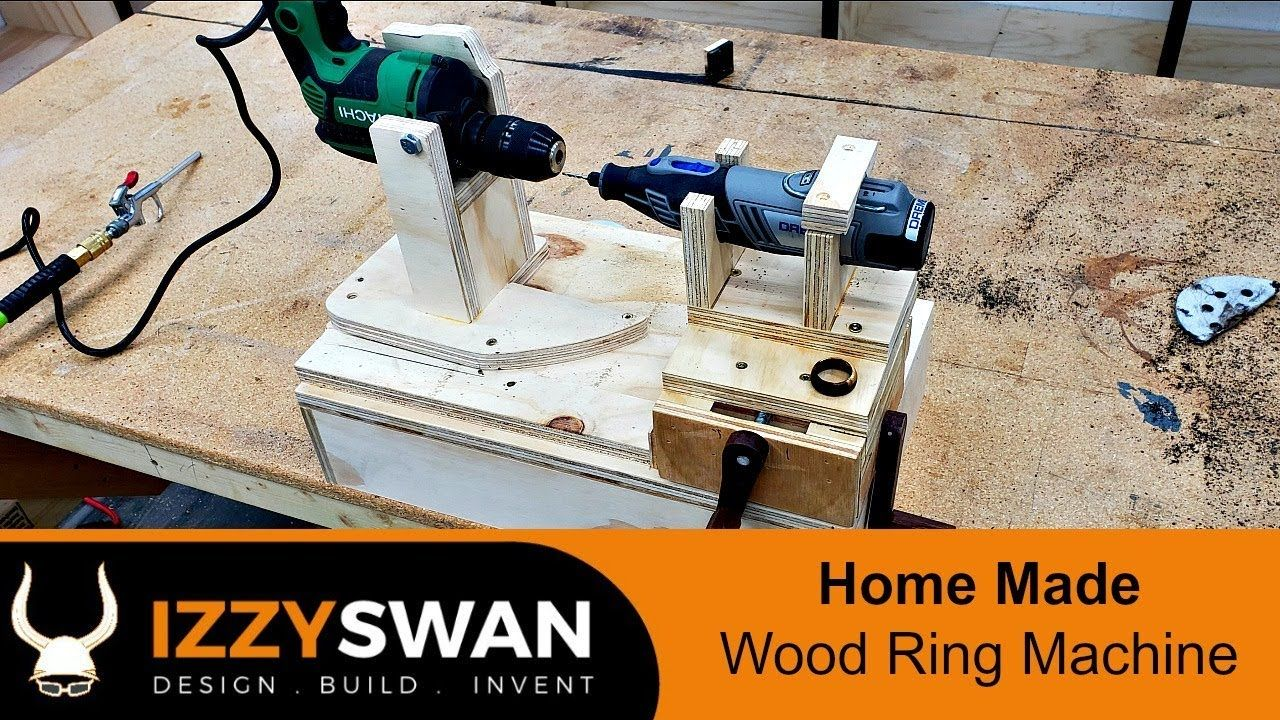How to make a wood ring making machine how to make rings