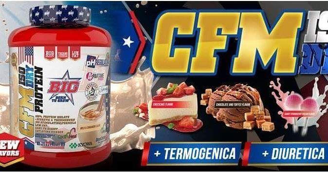 Proteína cfm Todo esto y más en www.ironcansport.com