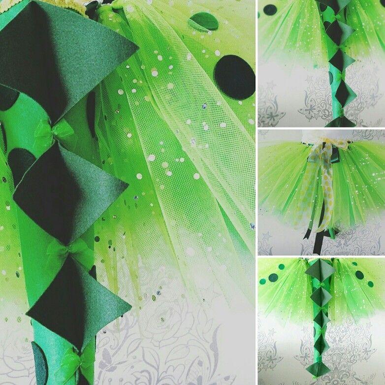 3bf80a41b8 Sparkly Dino tutu   tail