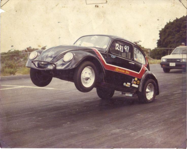 Hurricane Iwa Hawaii Raceway Park Vw Cars Drag Racing Vw Bug