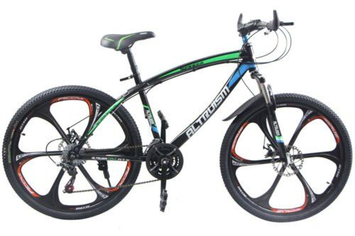 Hot Sales Altruism Mountain Bike Aluminum Alloy 21 Speed 26 Inch Folding Bicycle Blue Continue To The Product Bicycle Mountain Bike Tires Road Racing Bike