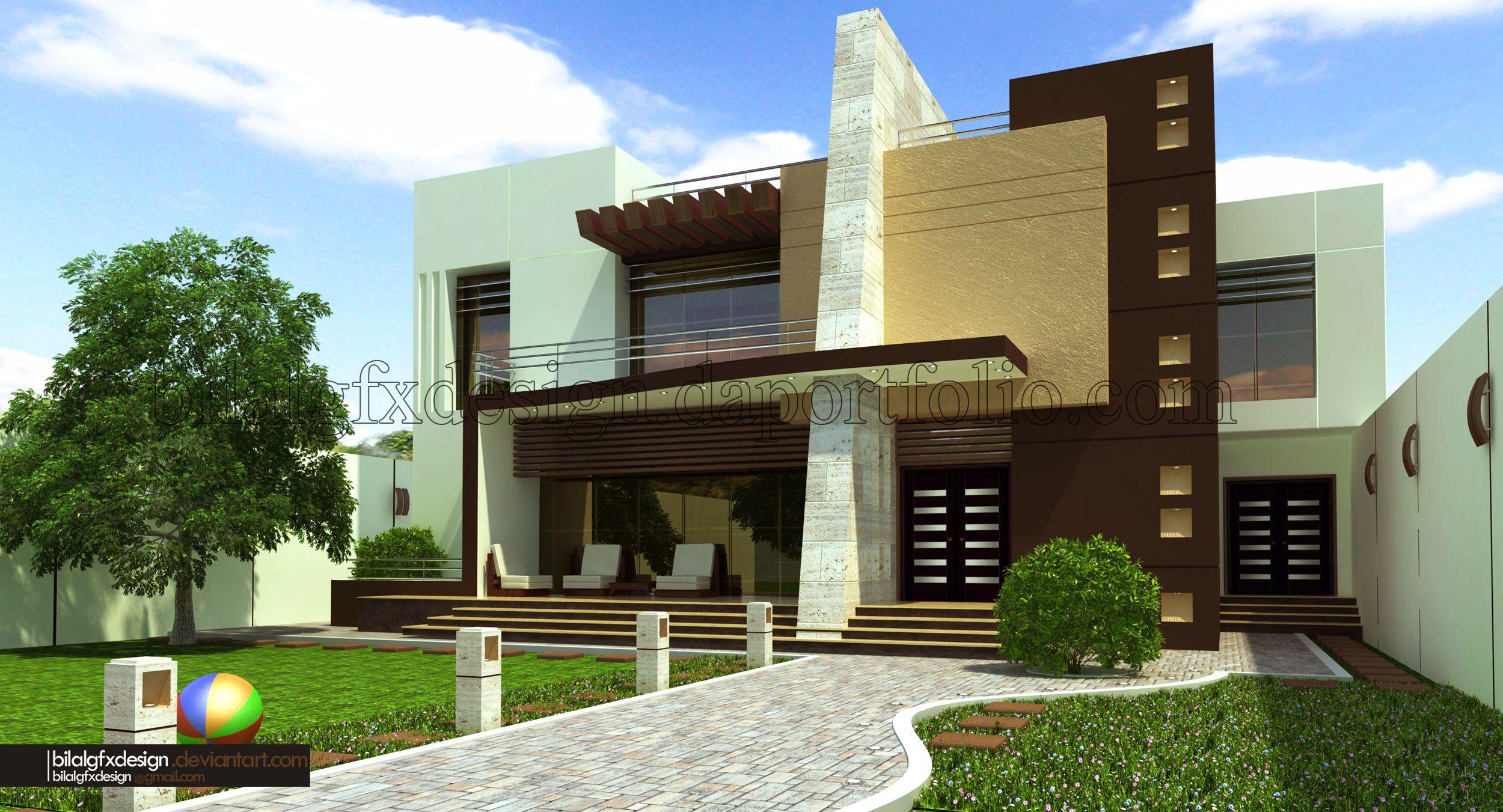 modern villa 1 by bilalgfxdesign on deviantart