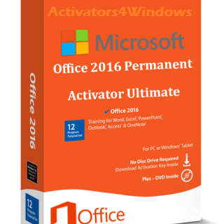 Office 2016 Permanent Activator Ultimate is wonderful Office