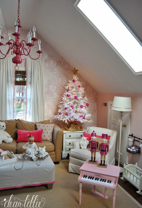 50 Fun Ways To Decorate Christmas Theme For Your Children S Playroom Christmas Decorations Bedroom Retro Christmas Decorations Whimsical Christmas