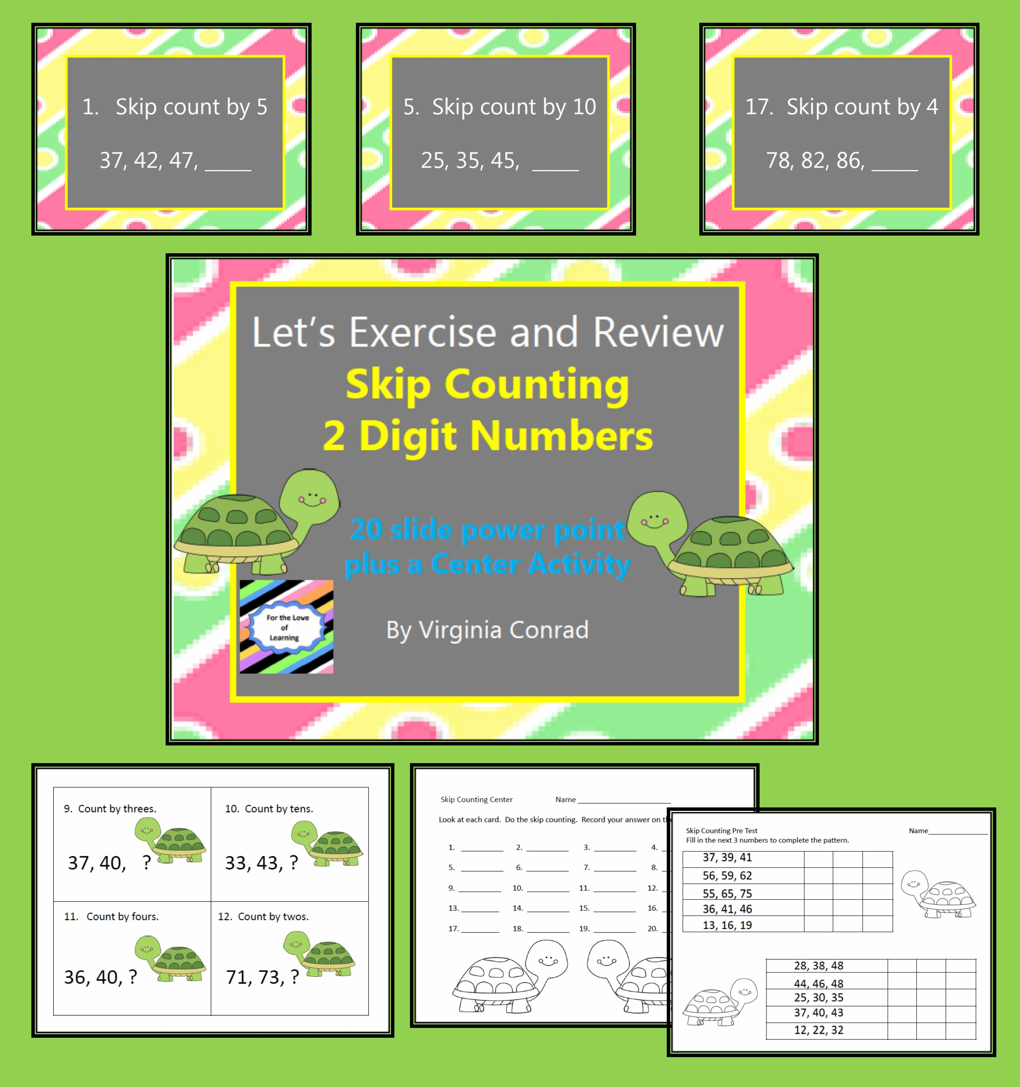 Skip Counting With Two Digit Numbers
