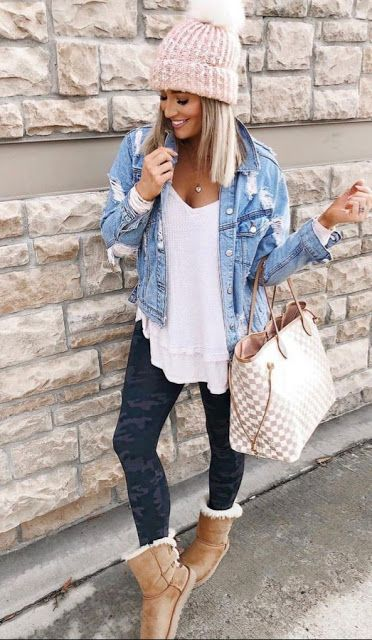 Cute Casual Fall outfits for Everyday #outfitinspiration #fallfashion #style