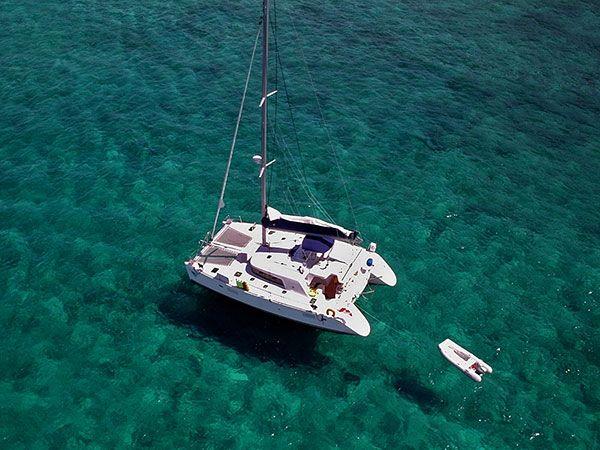 Florida Keys Are Ok But Not El Caribe Wj Sailing Catamaran