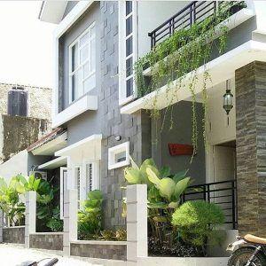 gambar teras rumah minimalis dengan batu alam | eksterior