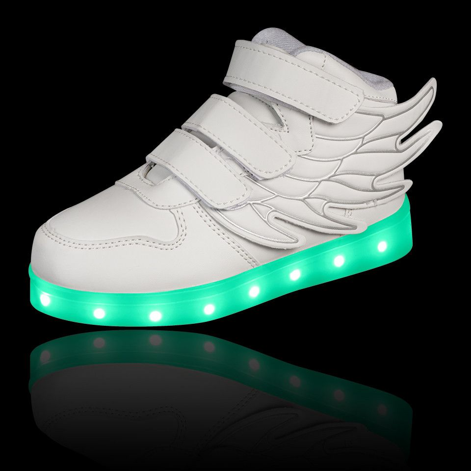 Kids White Hi-Tops  Bangerang. Kids White Hi-Tops  Bangerang Neon Shoes 19a8f24e8