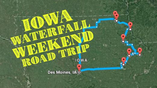 Iowa waterfalls