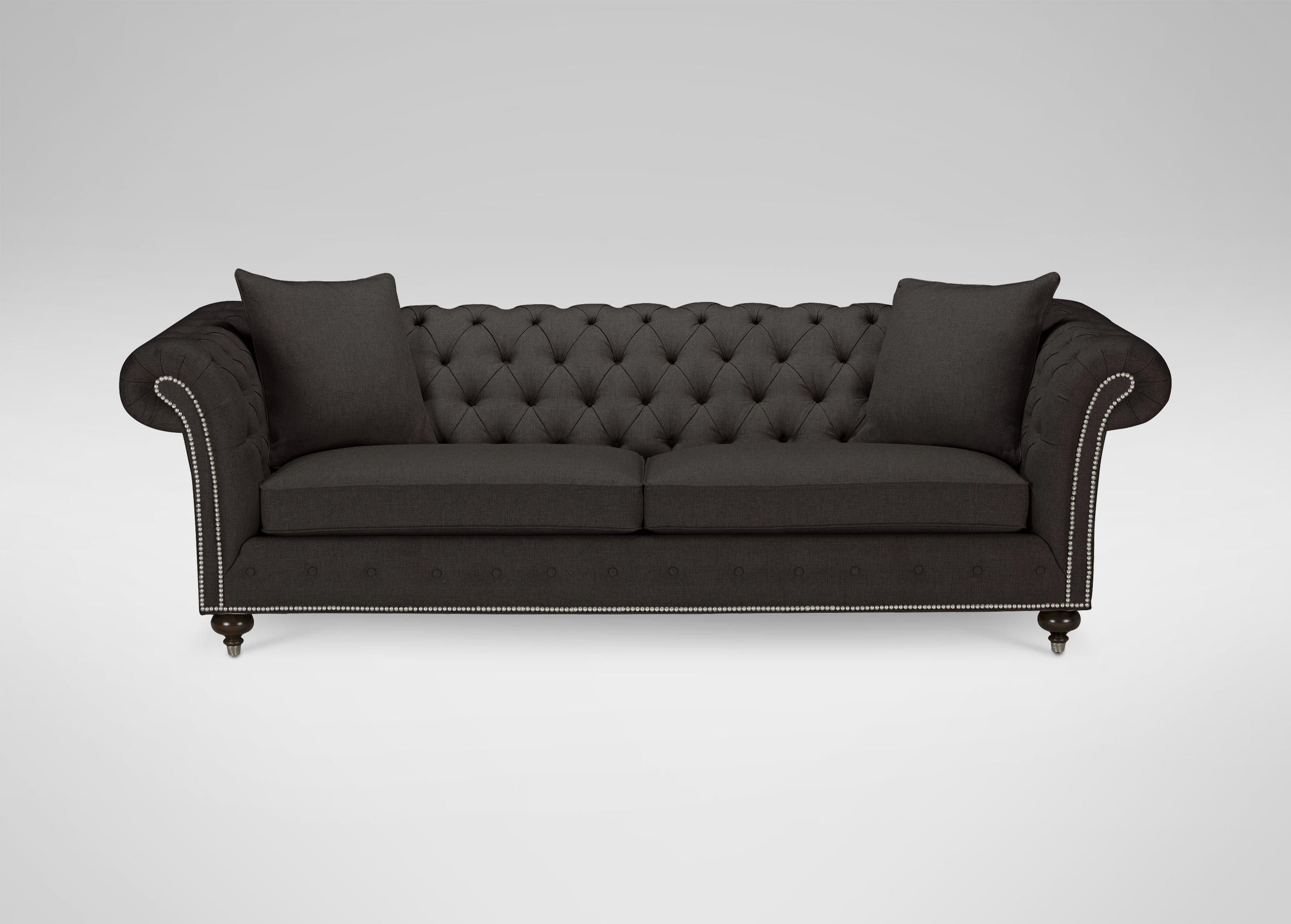 Sectional Sofa HomeVance Townsend Button Tufted Sofa
