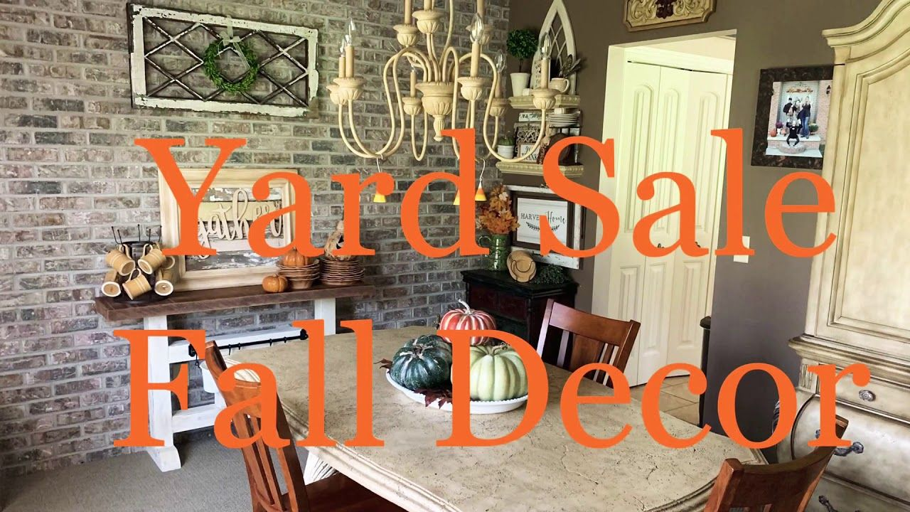 Decorating With Yard Sale Finds  from i.pinimg.com