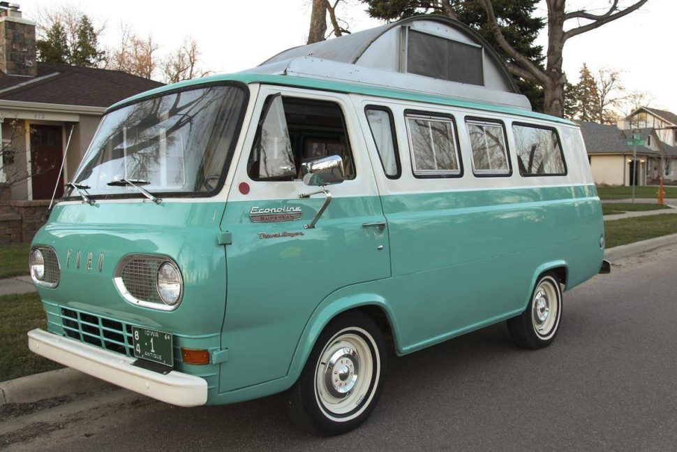 Hemmings Find Of The Day 1965 Ford Econoline Camper Camper