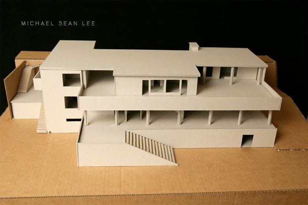 tugendhat house by mies van der rohe model pinterest architectural models and architecture. Black Bedroom Furniture Sets. Home Design Ideas