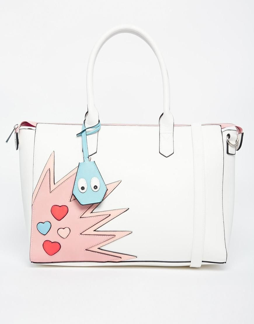Asos Handheld Bag With Novelty Detail At