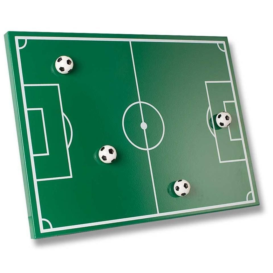 Fussball magnettafel inklusive 4 fussballmagneten kinderzimmer fussball pinterest - Fussball kinderzimmer ideen ...