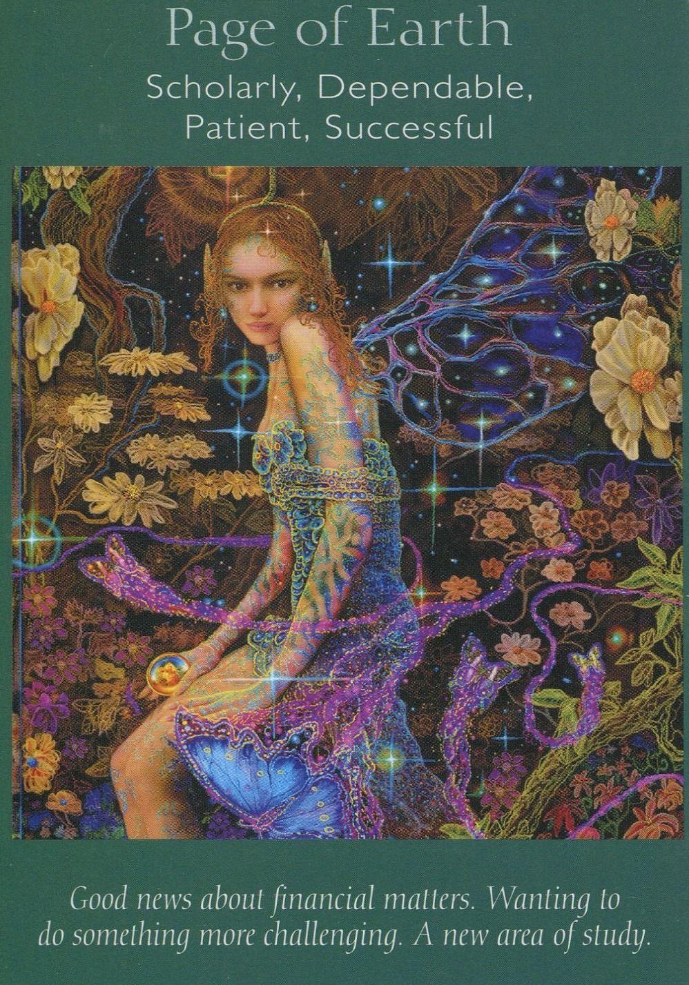 Page of Earth, Angel Tarot