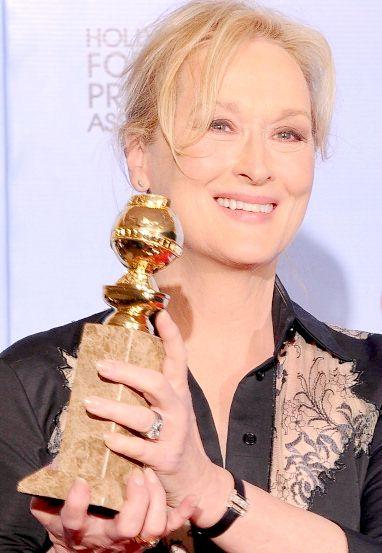 At the 2012 Golden Globe Awards