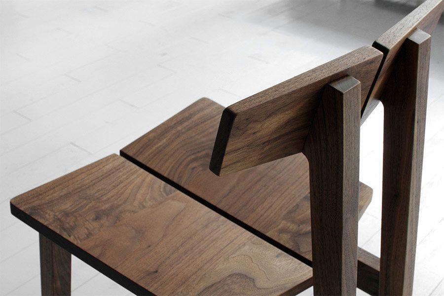 Modern Wood Furniture Bar Stool, Oak Furniture West