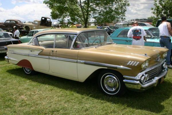 1958 chevrolet bel air 4 door hardtop cars from the 1950. Black Bedroom Furniture Sets. Home Design Ideas