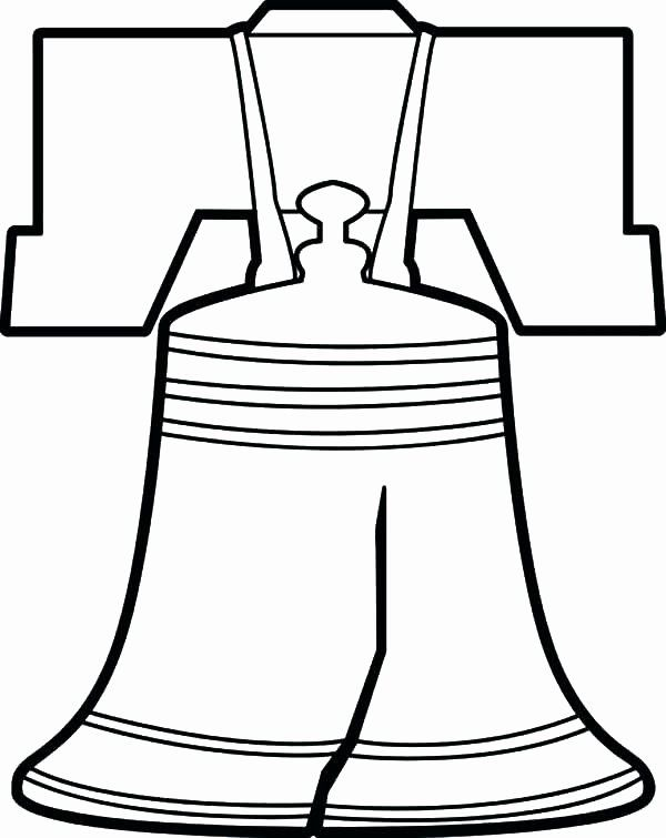 32 Liberty Bell Coloring Page in 2020 (With images