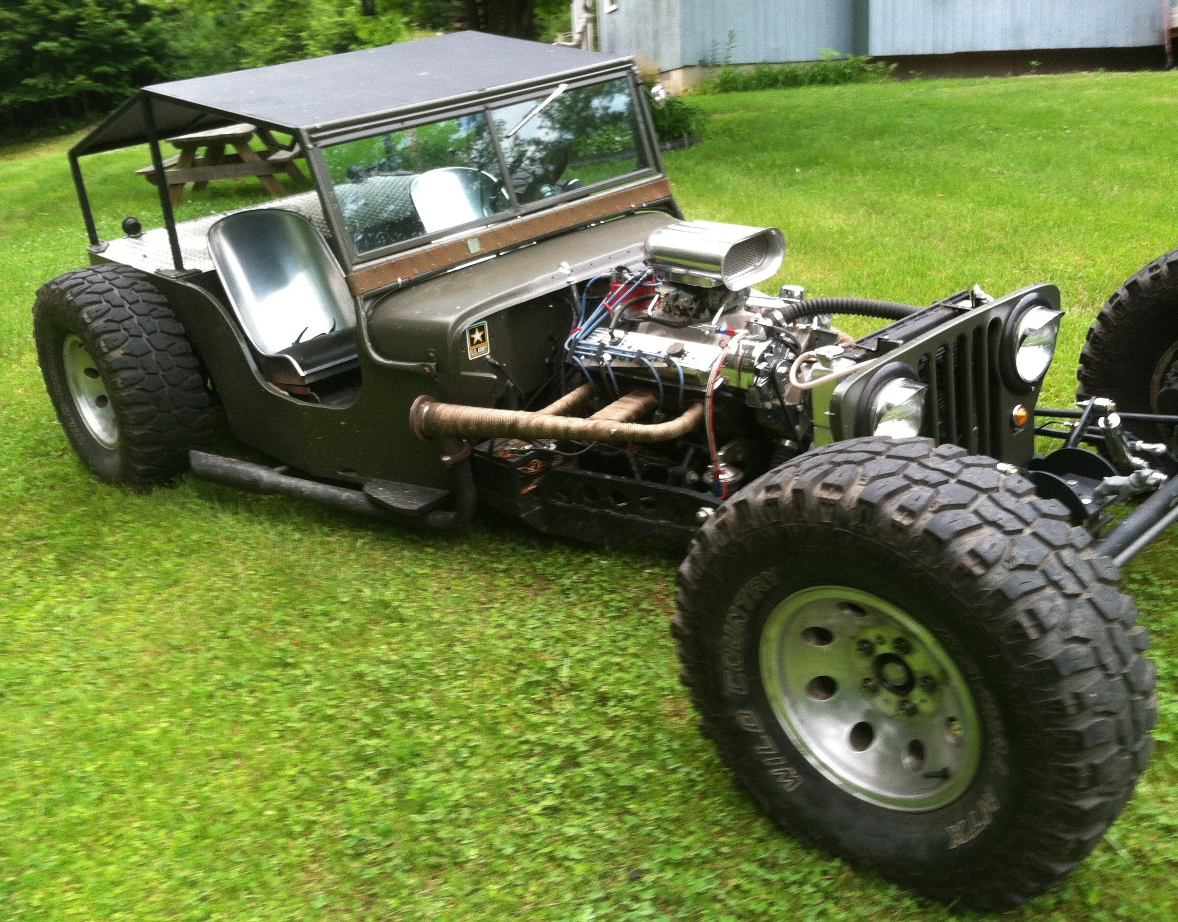 1947 willys cj2a jeep rat rod willys ratrod jeep. Black Bedroom Furniture Sets. Home Design Ideas