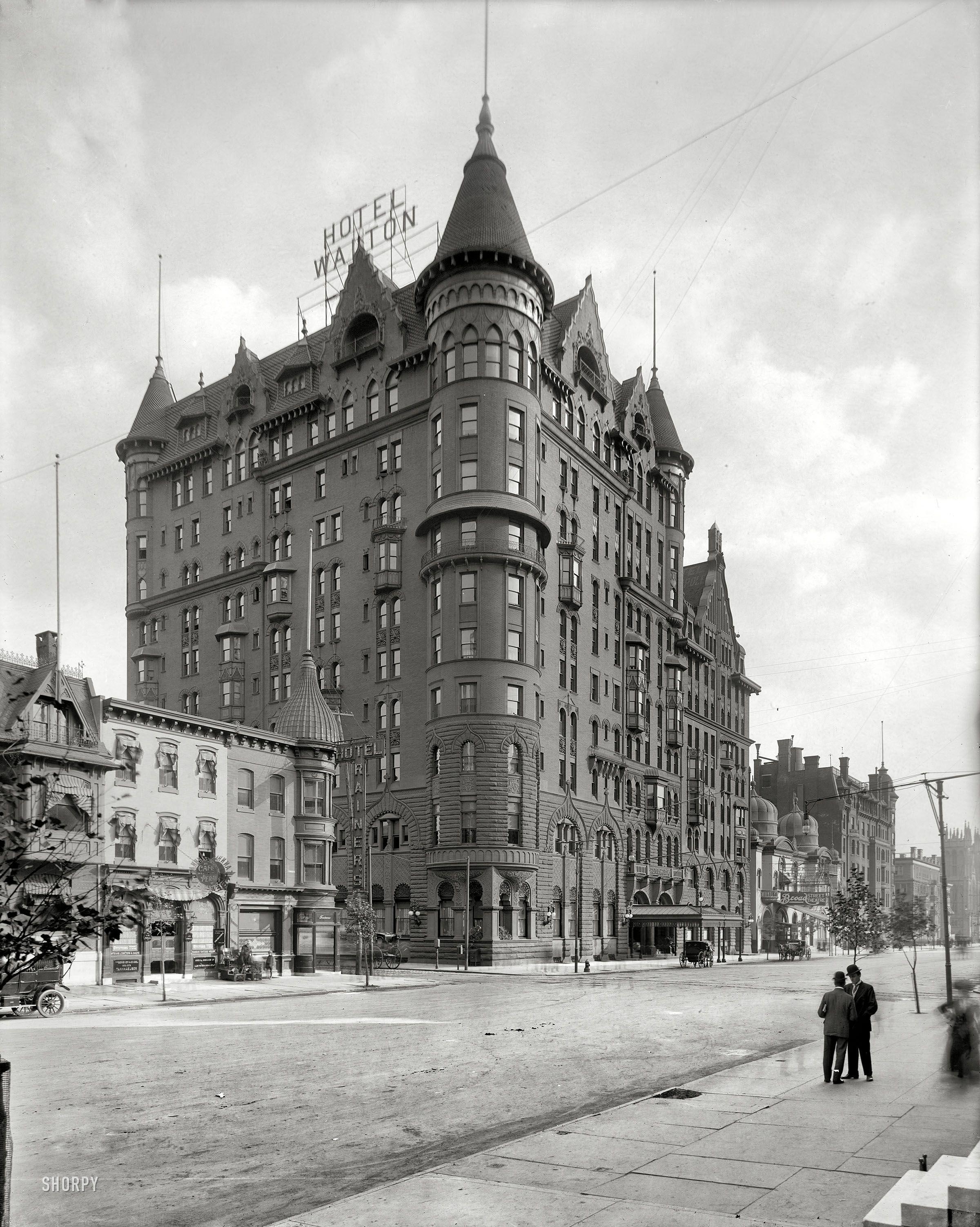 Shorpy Historical Photo Archive Hotel Walton Broad Street Philadelphia 1908