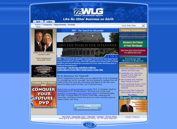 Wlgweb Com Offline Independent Marketing Company Project Type Design Custom Development Features Content Management System Marketing Company Web Based
