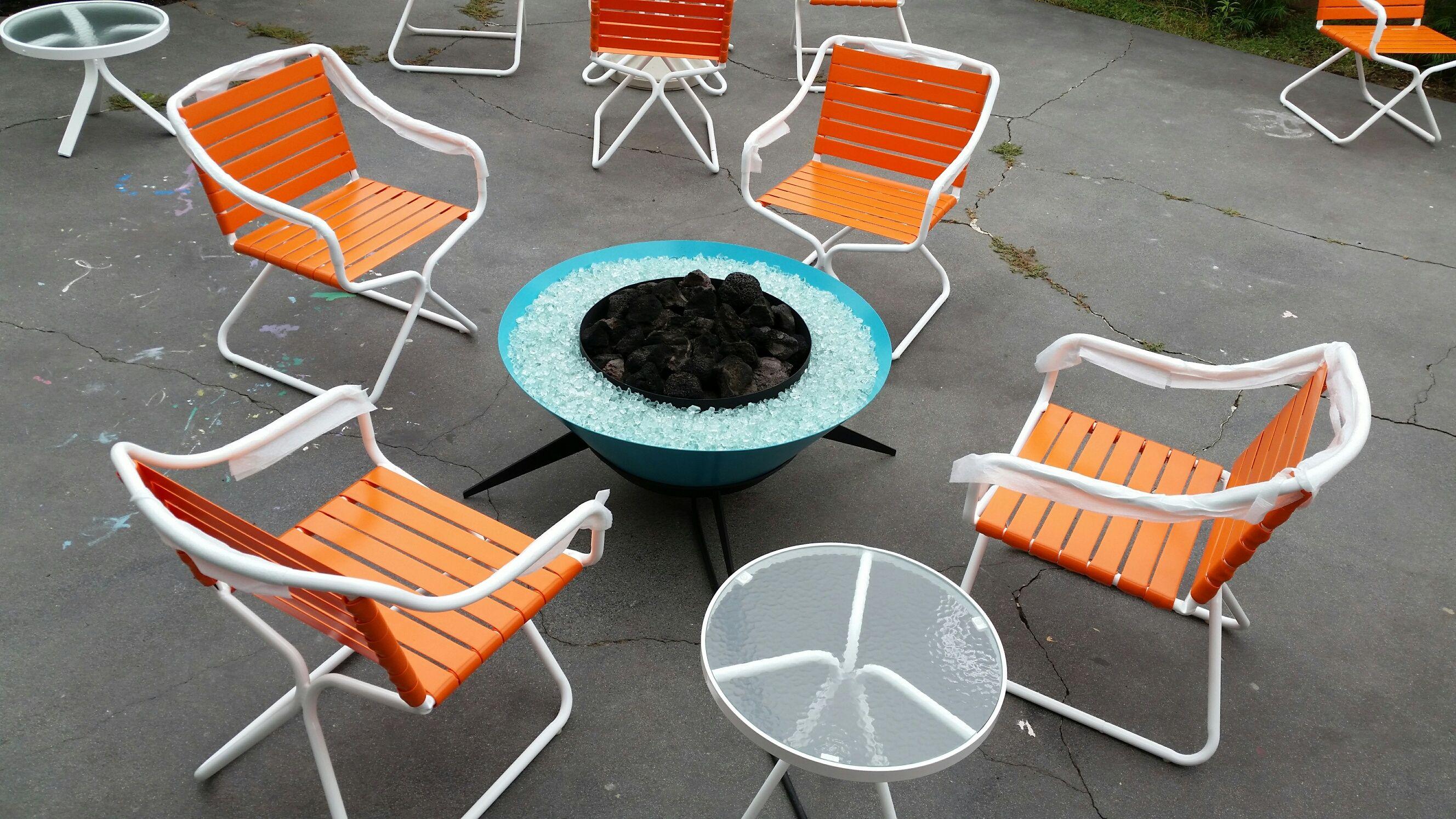 Brown Jordan Kailua Set Restored By Cfrpatio Furniture Repair