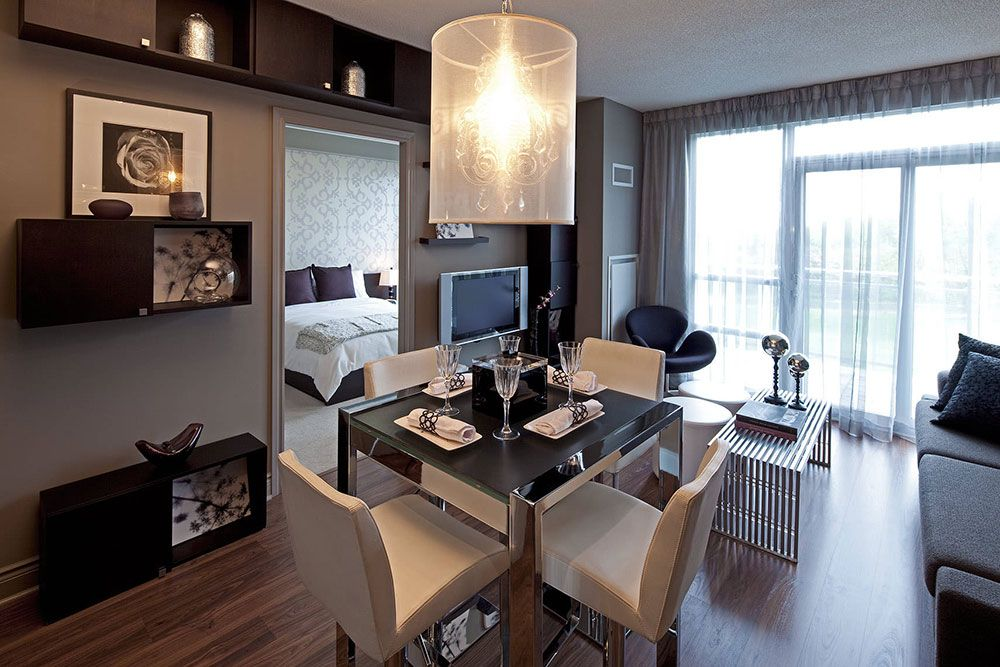 Tips For Decorating Small Dining Rooms Condo Interior Condo