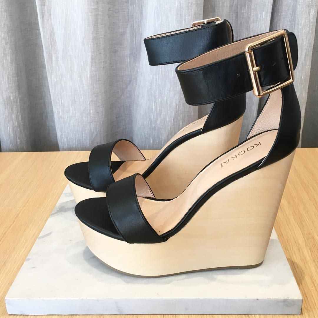The Vacation Wedges have just landed in Black & Nude