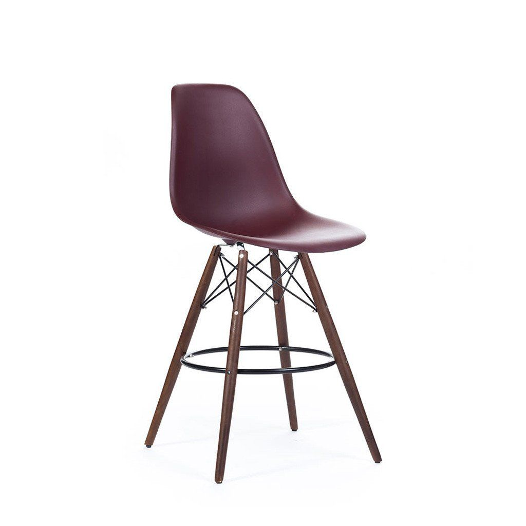 """Ethan Counter Stool 26"""" Clear Acrylic imagens)"""