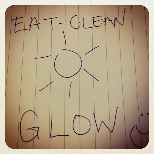 The @eatcleandiet helps you glow inside and out! - @eatcleandiet- #webstagram