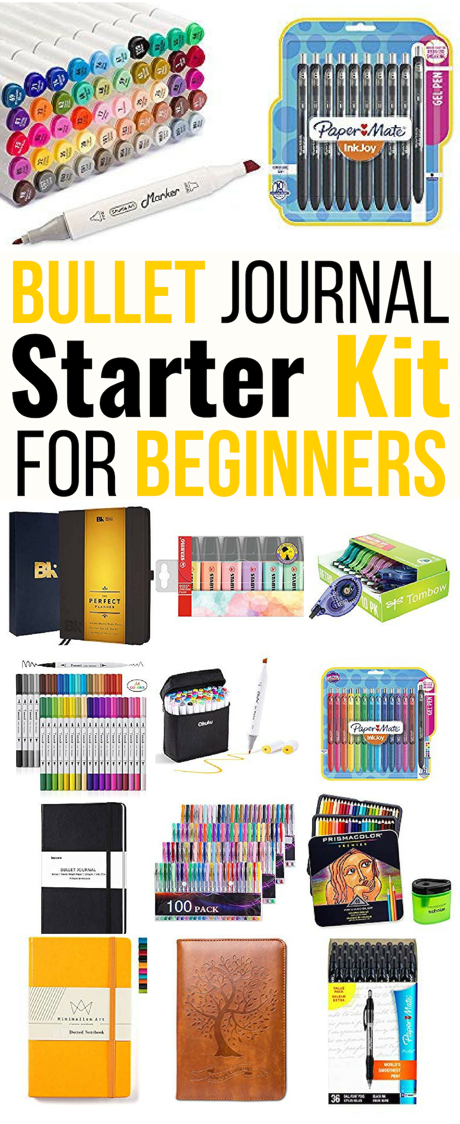 Complete Bullet Journal Starter Kit For Beginners And Beyond #septemberbulletjournalcover