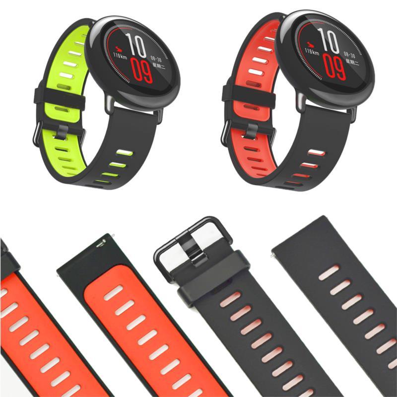 Smartwatch Armband schwarz 22mm für Xiaomi Amazfit 2