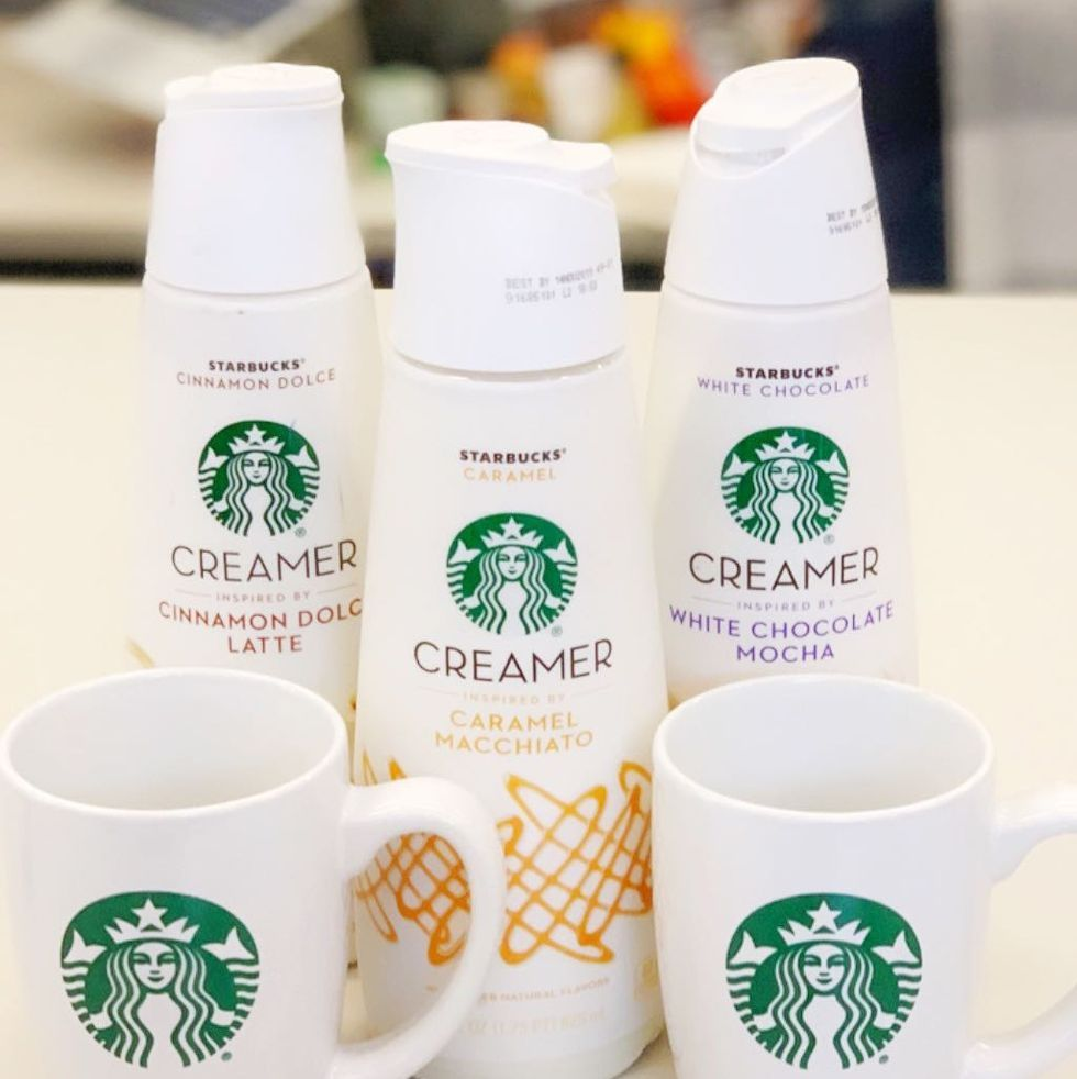 Starbucks' Line Of At-Home Creamers Are So Good They'll